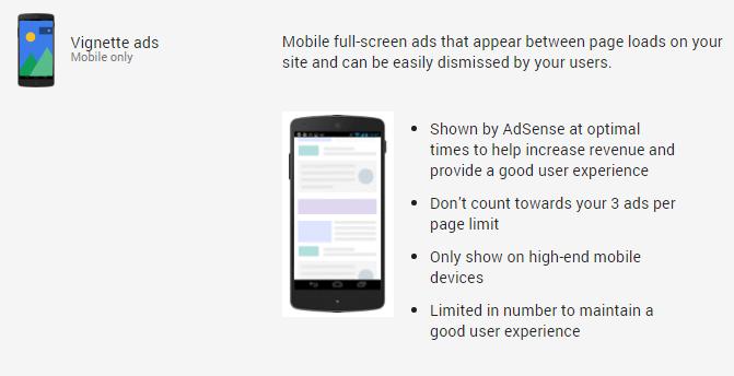 Pagel-Level Ads Vignette ads