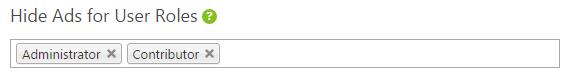 adsense user_roles wp quads