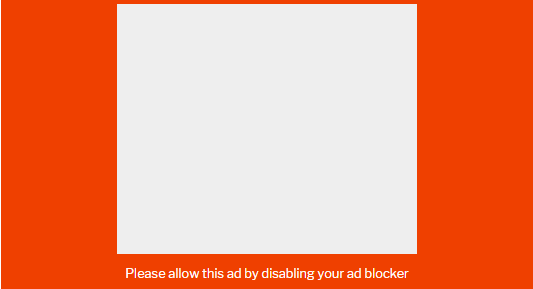 Ask your audience to deactivate their ad blocker