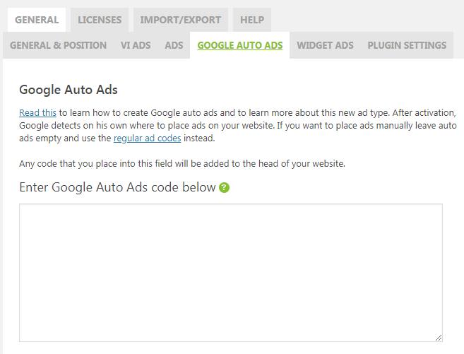 Adsense Ads not Showing on Website or Blog - WP QUADS PRO