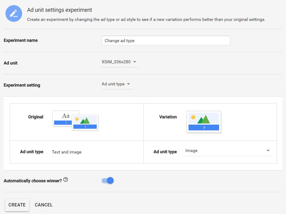 determine what ad type generates more clicks