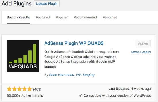 12 Reasons to use WP QUADS for AdSense Ads in WordPress websites