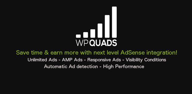 WP QUADS for AdSense Integration in WordPress websites